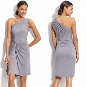 Maggy London Side Twist One Shoulder Dress